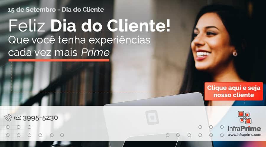 Infraprime dá parabéns aos clientes pelo Dia do Cliente. Imagem: Patrick Tomasso on Unsplash.