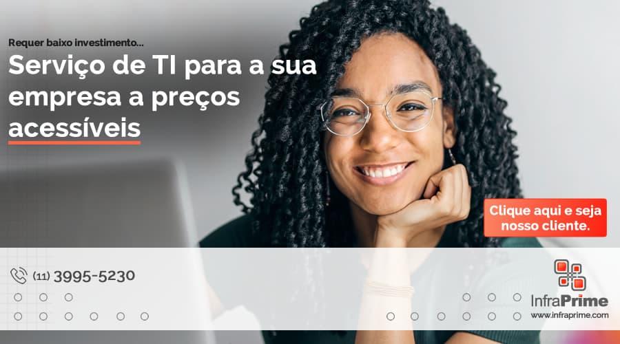 A Infraprime fala sobre o baixo investimento necessário para mudar sua infraestrutura de TI. Imagem: Andrea Piacquadio no Pexels.